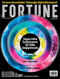 Fortune Dergisi Aralık 2018 Kapak
